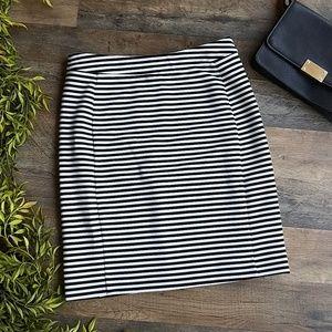41 Hawthorn • Striped Pencil Skirt